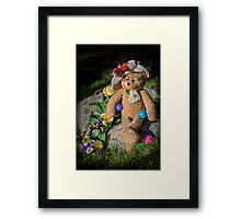 Bear Stories: Have a Beary Happy Easter Framed Print