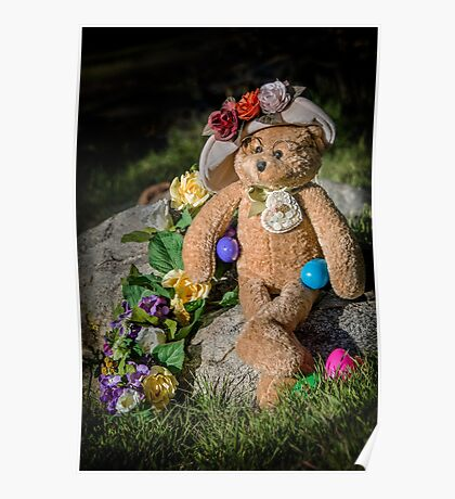 Bear Stories: Have a Beary Happy Easter Poster