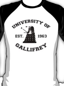 University Of Gallifrey T-Shirt