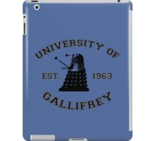 University Of Gallifrey iPad Case/Skin