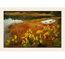 Rivers Edge, Cushing ME Photographic Print