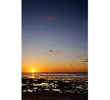 Sunset - Great Barrier Reef Marine Park Photographic Print
