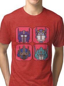 Pixel Optimus[es] Tri-blend T-Shirt