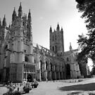 Canterbury Cathedral in Black & White by Michiel Meyboom