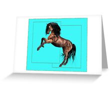 Horse 7 .. calendar Greeting Card