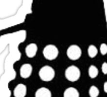 Dalek - Black and White Sticker