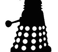 Dalek - Black and White by Grace-Moxley