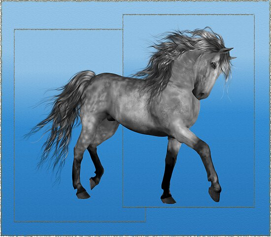 Horse 8 .. calendar by LoneAngel