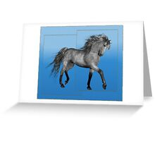 Horse 8 .. calendar Greeting Card