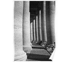 Roman Columns, The Vatican Poster