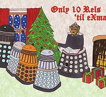 Dalek Christmas special by HappyDoctors