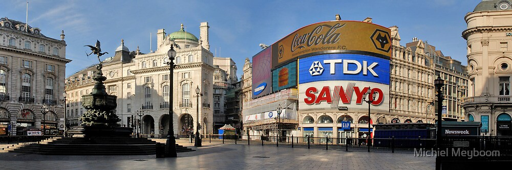Exodus: Piccadilly Circus, London by Michiel Meyboom