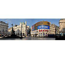 Exodus: Piccadilly Circus, London Photographic Print