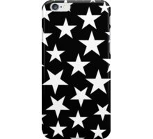 Black and White Stars iPhone Case iPhone Case/Skin