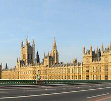 Exodus: Westminster Bridge, London by Michiel Meyboom