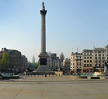 Exodus: Trafalgar Square, London by Michiel Meyboom