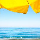 Sunshade and Sea by eyeshoot