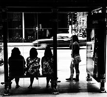 Waiting For The Bus by Tim Nault