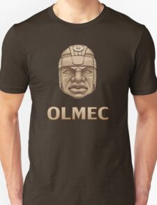 Olmec Head Unisex T-Shirt