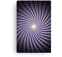 Abstract / Psychedelic Spiral Pattern Canvas Print