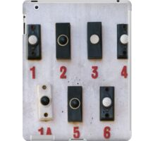 Doorbells iPad Case/Skin