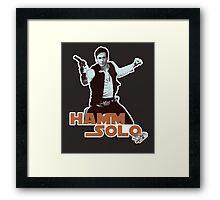 Hamm Solo Framed Print