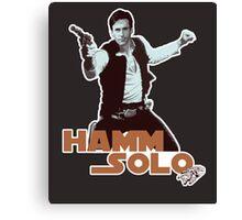 Hamm Solo Canvas Print