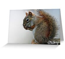 Momma Red Greeting Card