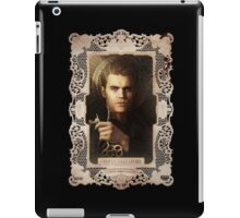 vampire diaries Stefan Salvatore iPad Case/Skin