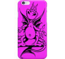 Funny Dragon - Purple iPhone Case/Skin