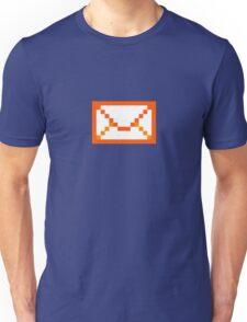 Orangered mail Unisex T-Shirt