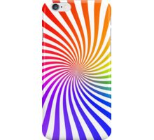 Colorful Psychedelic Spiral Pattern iPhone Case/Skin