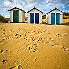 On the beach by Geoff Carpenter