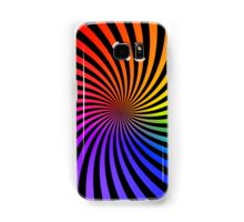 Colorful Psychedelic Spiral Pattern Samsung Galaxy Case/Skin