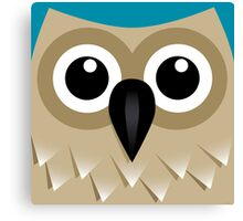 Wise Old Owl - T Shirt Canvas Print