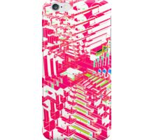 Pink Abstract 3D Construct iPhone Case/Skin