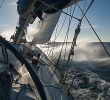 Beating in to Cadiz by James Robinson Taylor