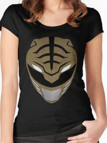 Go White Ranger Go Women's Fitted Scoop T-Shirt