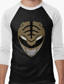 Go White Ranger Go Men's Baseball ¾ T-Shirt