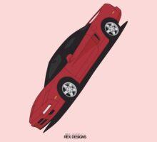 Honda NSX (Angled) Kids Tee