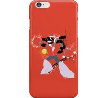 Nitro Man Splattery Vector Design iPhone Case/Skin
