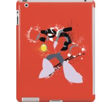 Nitro Man Splattery Vector Design iPad Case/Skin