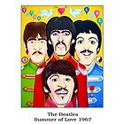 The Beatles - Summer of Love 1967 by StevieRiksArt