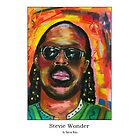 Stevie Wonder by StevieRiksArt