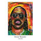 Stevie Wonder by StevieRiksArt
