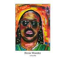 Stevie Wonder Photographic Print