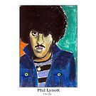 Phil Lynott by StevieRiksArt