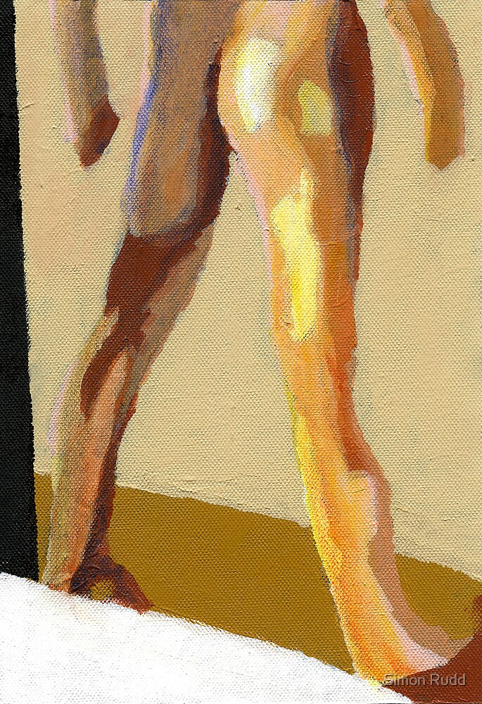 Male nude by Simon Rudd