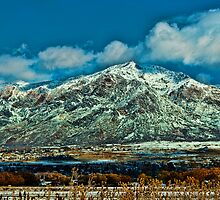Clearing Storm - Wasatch Front by Brenton Cooper