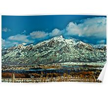 Clearing Storm - Wasatch Front Poster